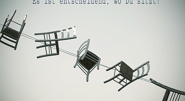 Sitzt Du gut auf Deinem Sitzplatz?