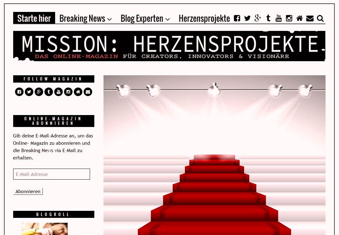 Mission Herzensprojekte Kolumne - Elke Dola - quovadix