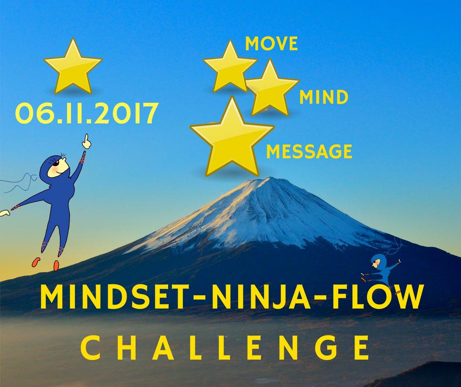 Die Mindset-Ninja-Flow-Challenge
