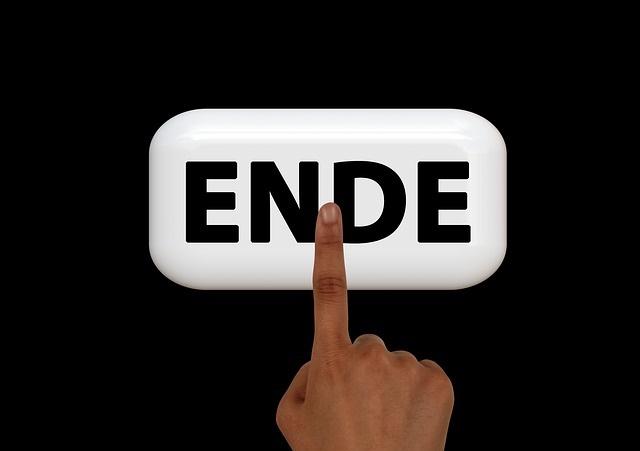 Ende-Schalter